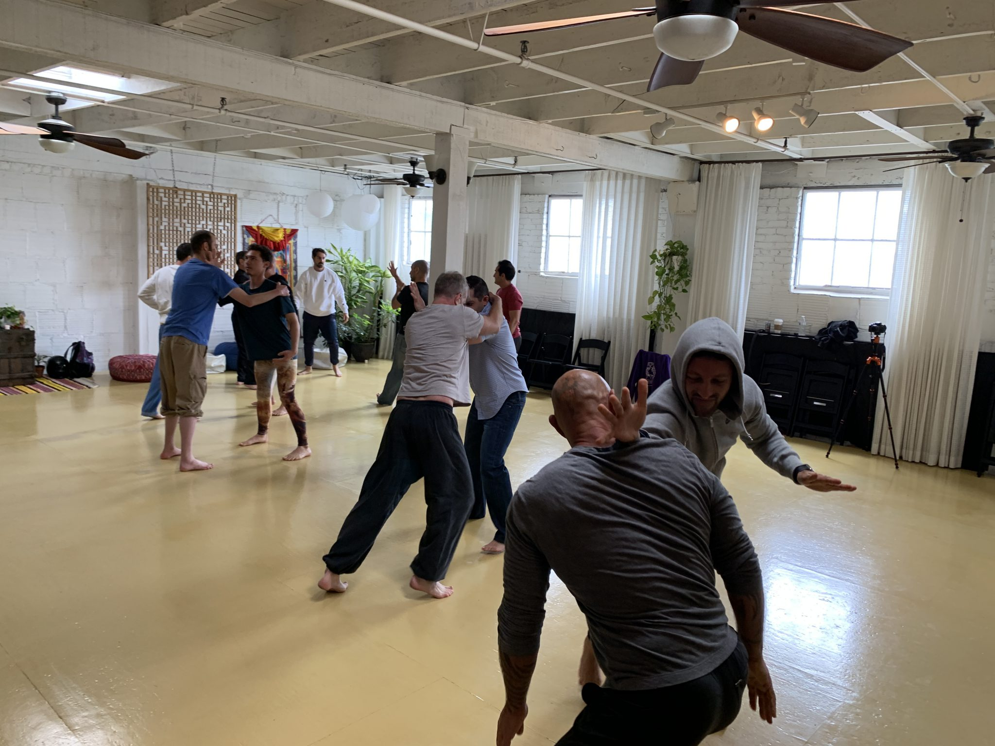 Embodied Masculine Self Defense Training