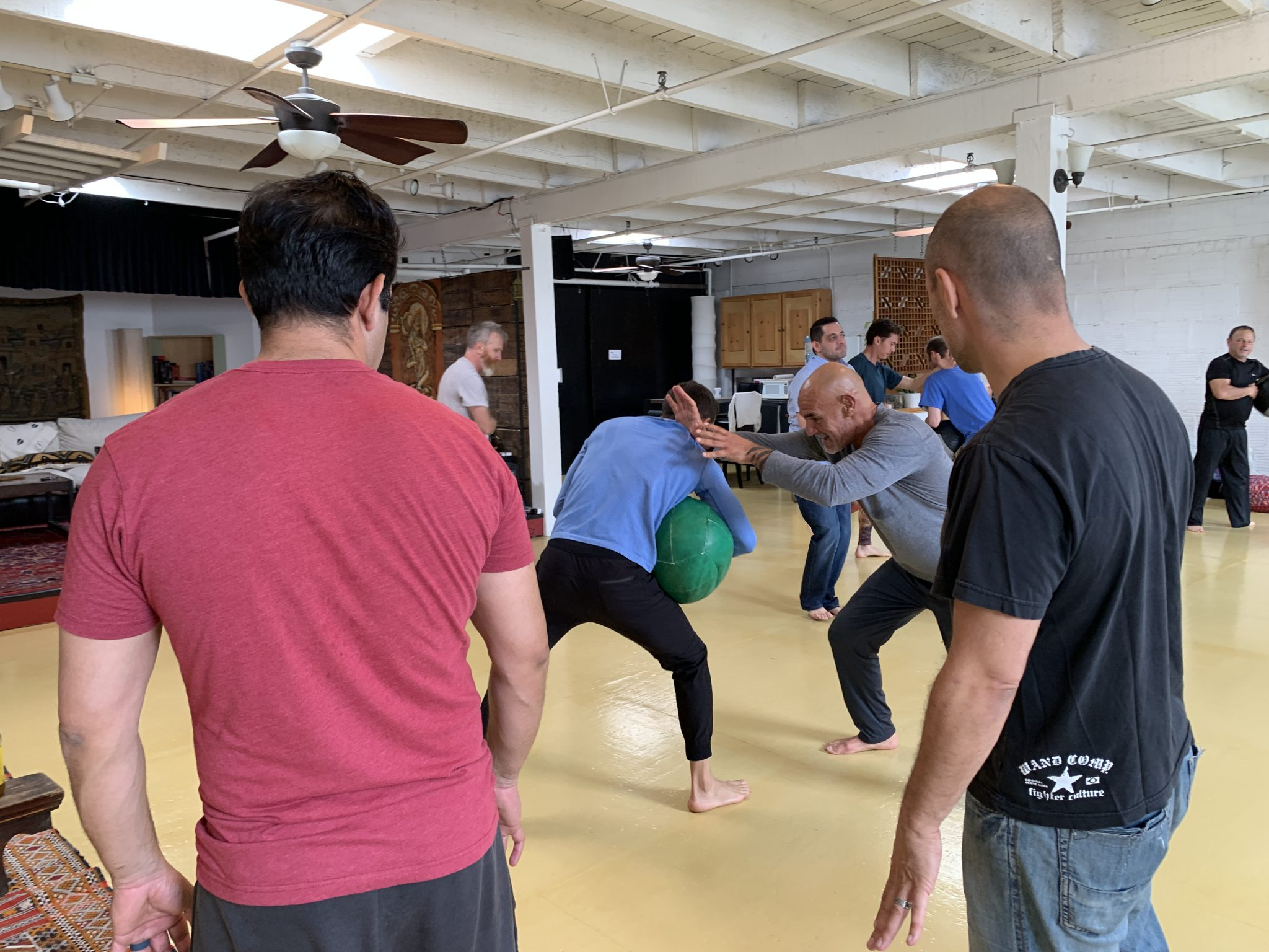 Men's Group Los Angeles - Embodied Masculine Self Defense Training