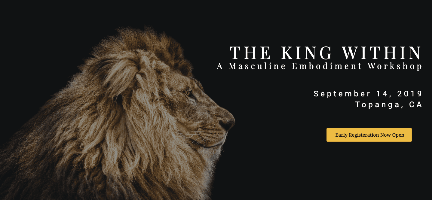 Masculine Workshop The King Within