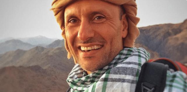 Amir Khalighi Climbing Mount Sinai