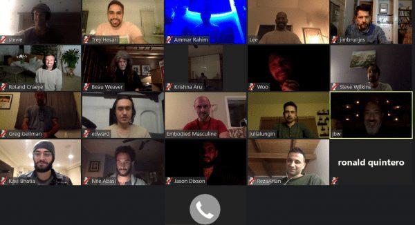 virtual men's group