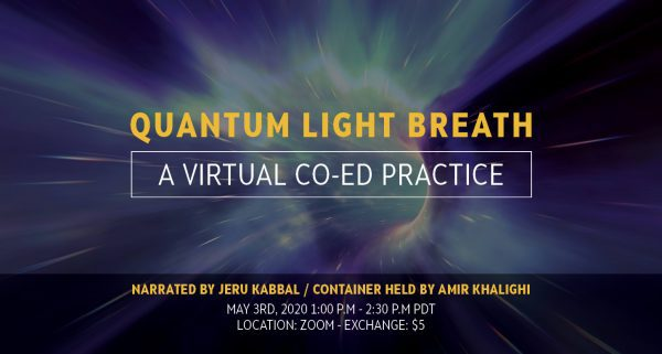 Quantum Light Breath by Embodied Masculine