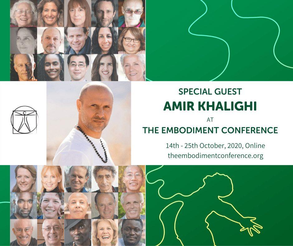 Amir Khalighi Embodiment Conference