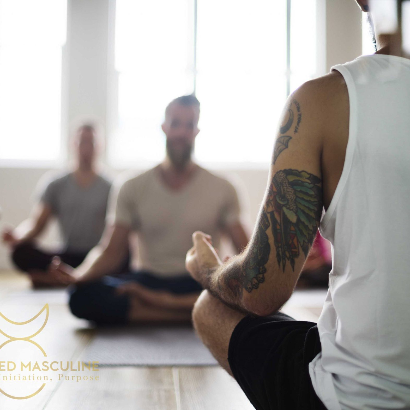 Learn meditation at EmbodiedMasculine.com Workshops